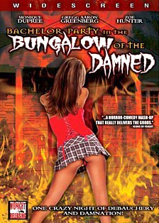 DVD cover for Bachelor Party in the Bungalow of the Damned