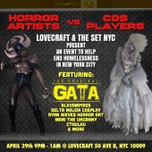 Tha True Original Gata™ To appear at Lovecraft April 29, 2017