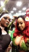 Tha True Original Gata™ MONIQUE Dupree attends New York Comic Con