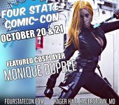 "Tha True Original GATA ""Monique Dupree"" to be a guest at Four State Comic Con"
