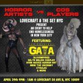 Tha True Original Gata™ To appear at Lovecraft April 29, 2017